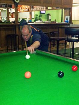 Andrew Saltmarsh 2012 NTB&SA 'A' Reserve Billiards Champion