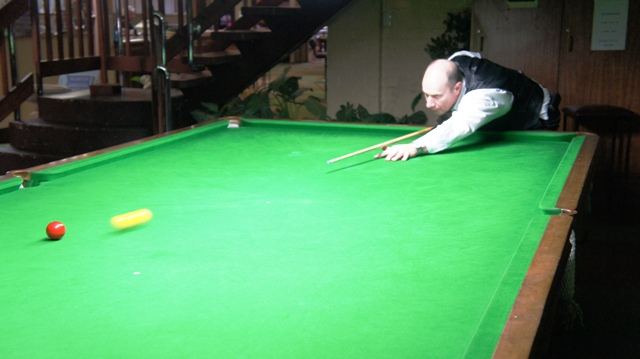 Barry Glover - 2011 NTB&SA A Reserve Billiards Runner Up