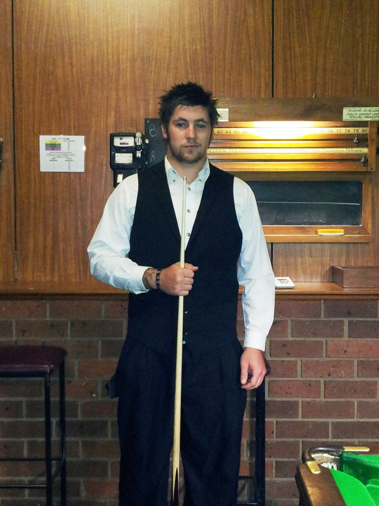 Ethan Brown 2012 NTB&SA 'B' Grade Billiards Runner Up