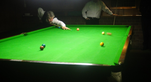 Gary Bjarone-Elliott 2010 NTB&SA A Grade Snooker Runner Up