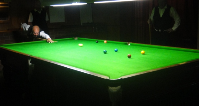 Graeme Pickett 2010 NTB&SA A Grade Snooker Champion