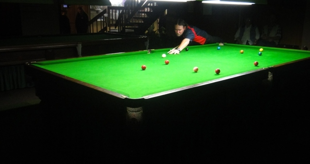 Lee Morcom 2010 NTB&SA A Reserve Snooker Runner Up