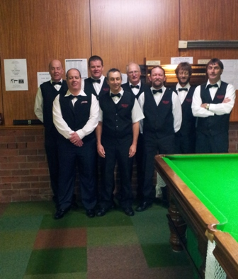 North: Andrew Saltmarsh, Keith Coomber, Adrian White, Rolf Stevenson, Steve Leary, Lee Morcom, George Zamitt, Heath Rainbow