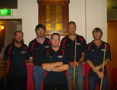 LWC Green - Billiard Premiers 2010