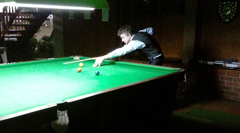 Stephen Kaine - 2012 Tasmanian Under 18 Billiards Champion